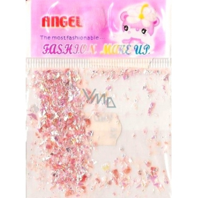 Angel nail decorations pieces pink 1 pack