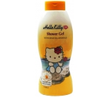 Hello Kitty Milk & Honey sprchový gel pro děti s minerály z Mrtvého moře 750 ml