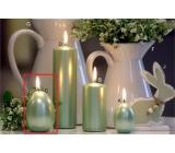 Lima Pastel svíčka metal mentolová velké vajíčko 60 x 90 mm 1 kus