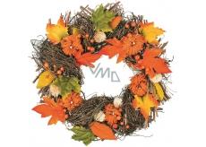 Autumn wicker wreath 41 cm
