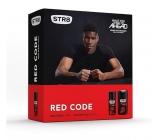 STR8 Red Code Deodorant Spray 150 ml + Shower gel 250 ml, cosmetic cassette