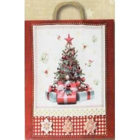 Nekupto Gift kraft bag 41.5 x 32 x 12 cm Christmas 299 WKXL