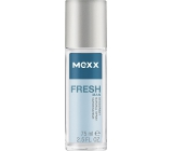 Mexx Fresh Man perfumed deodorant glass 75 ml Tester