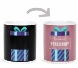 Albi Changing mug Beautiful birthday 310 ml