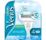 Gillette Venus Smooth Sensitive Replacement Head for Women 4 Pieces