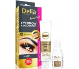 Delia Cosmetics Eyebrow Expert gel paint for eyebrows and eyelashes with activator 1.1. Graphite - gray 2 x 15 ml