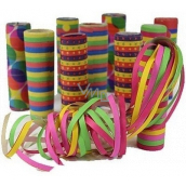 Colored serpentines 7 mm x 4 m 17 pieces in a package