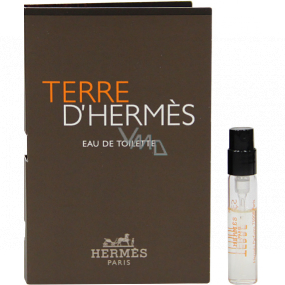 Hermes Terre D Hermes eau de toilette for men 2 ml vial
