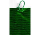 Nekupto Gift paper bag hologram standard 10 x 33 cm Green THLH
