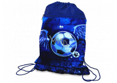 Donau School football shoe bag with two pockets and a 42.5 x 32 cm zipper