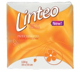 Linteo Classic white paper napkins 1-layer 33 x 33 cm 100 pieces
