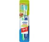 Oral-B 3-Effect Natural Fresh medium toothbrush 1 + 1 piece