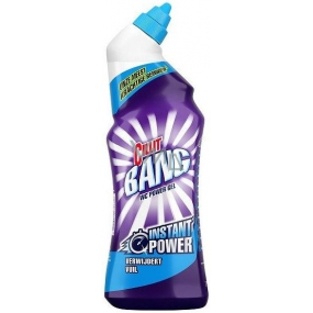 Cillit Bang Instant Power Stain Terminator Marine Toilet Cleaner Gel Stain Remover 750 ml