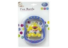 First Steps Fun Rattle Rattle Assorted Colors Hippo 1 piece