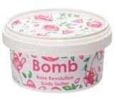 Bomb Cosmetics Rose Revolution Natural body butter handmade 210 ml