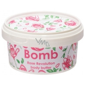 Bomb Cosmetics Rose Revolution Natural Body Butter handmade 210 ml