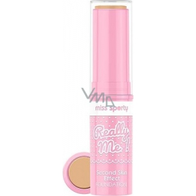 Miss Sports Really Me! Second Skin Effect Foundation Rigid Makeup 003 Really Medium 7 g