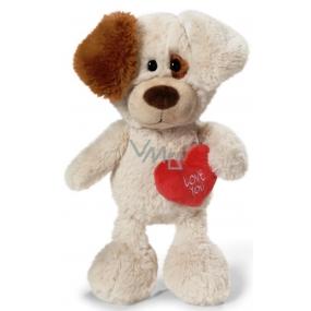 Nici Love You Dog Plush toy finest plush 25 cm
