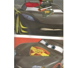 Ditipo Disney Gift Paper Bag for Kids L Cars McQueen 26.4 x 12 x 32.4 cm
