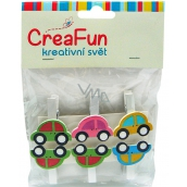 CreaFun Car peg 6 pieces