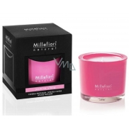 Millefiori Milano Natural Jasmine Ylang - Jasmine and Ylang Scented candle burns up to 60 hours 180 g