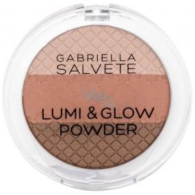 Gabriella Salvete Lumi & Glow Powder Brightening Powder For All Types Of Skin 01 9 g