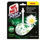 WC Net Crystal Style Green Exotic curtain 36.5 g