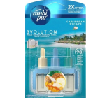 Ambi Pur 3 Volution Caribbean Escape 2x Effect electric air freshener refill 3 x 20 ml