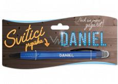 Nekupto Glowing pen named Daniel, touch tool controller 15 cm