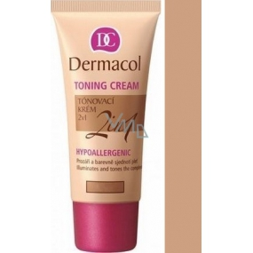 Dermacol Toning Cream 2v1 make-up Bronze 30 ml