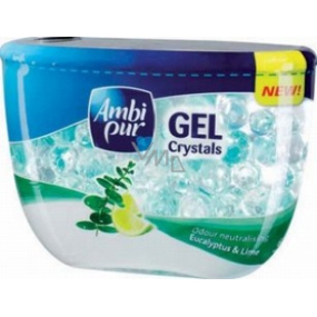 Ambi Pur Crystals Eucalyptus & Lime gel air freshener 150 g