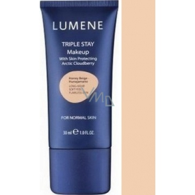 Lumene Double Stay mineral makeup 03 Perfect Beige 30 ml