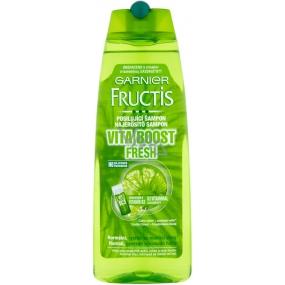 Garnier Fructis Vita Boost Fresh strengthening shampoo for normal, fast oily hair 250 ml