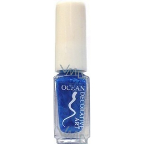 Ocean Decorative Art decorating nail polish shade 29 blue 5 ml