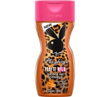 Playboy Play It Wild for Her shower gel 250 ml
