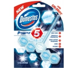 Domestos Power 5 Chlorine WC tuhý blok 55 g