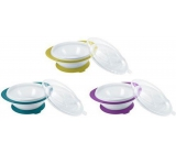 Nuk Easy Learning baby bowl with 2 lids and suction cup
