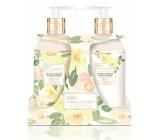 Baylis & Harding Lemon Flowers and White Rose Liquid Soap 300 ml + Milk on Hand 300 ml Cosmetic Set