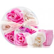 Rose-rose white-pink soap 3670