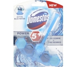 Domestos Power 5 Blue Water Ocean Toilet block for lime scale and long lasting freshness of your toilet 53g