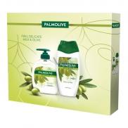 Palmolive Naturals Olive & Milk liquid soap 300 ml + 250 ml shower gel, cosmetic set