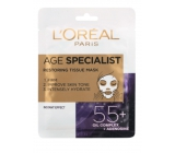 Loreal Paris Age Specialist 55+ Refreshing Textile Mask 30g