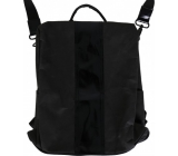 Albi Eco backpack and other handbag made of washable paper Black 33 x 25 x 11 cm