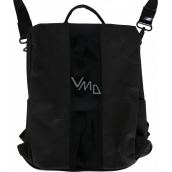 Albi Eco backpack and handbag made of washable paper Black 33 x 25 x 11 cm