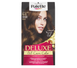 Schwarzkopf Palette Deluxe hair color 6-0 Light brown 115 ml