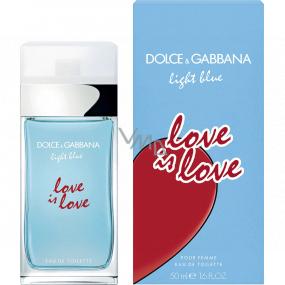 Dolce & Gabbana Light Blue Love is Love Eau de Toilette for Women 50 ml