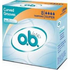 ob Original Super tampons 8 pieces