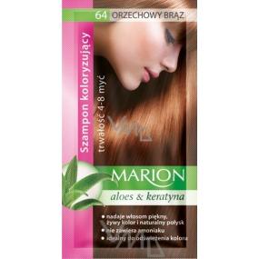 Marion Toning Shampoo 64 Walnut brown 40 ml