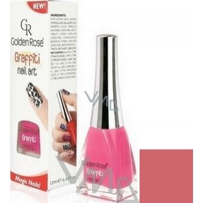 Golden Rose Graffiti Nail Art crackling nail polish shade 22 12 ml