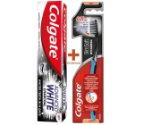 Colgate Slim Charcoal Soft Soft Toothbrush 1 piece + Colgate Advanced White Charcoal Whitening Toothpaste 75 ml, duopack